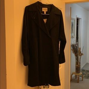 New long casual jacket size small